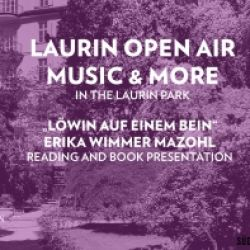 LAURIN OPEN AIR MUSIC & MORE - PRESENTAZIONE LIBRO