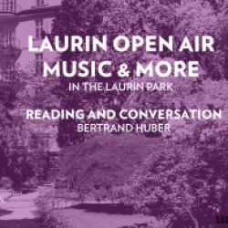 LAURIN OPEN AIR MUSIC & MORE - LETTURA E DISCUSSIONE