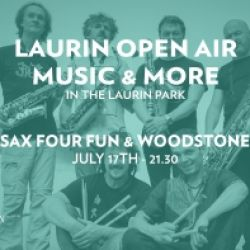 LAURIN OPEN AIR MUSIC & MORE - SAX FOUR FUN & WOODSTONE