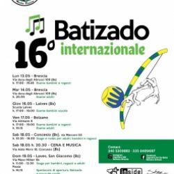 16° Batizado internazionale