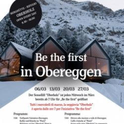 Be the first in Obereggen