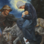 Il Natale tirolese. Dipinti di J. B. Oberkofler (1895–1969)