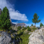 Foto Trekking in den Dolomiten