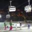 Sciare e slittare di notte sul Monte Baranci